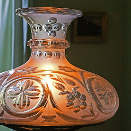 Antique Lamp by Judy Florio - Artistic Objects Antiques