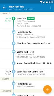 TripIt: Travel Organizer Screenshot 2
