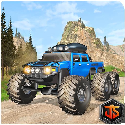 6x6 Offroad Monster Truck Driving Simulator