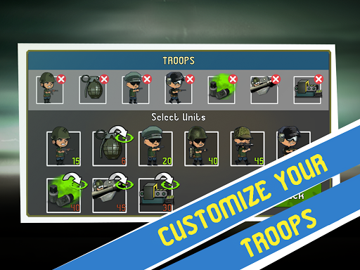 War Troops: Military Strategy Game for Free  screenshots 11