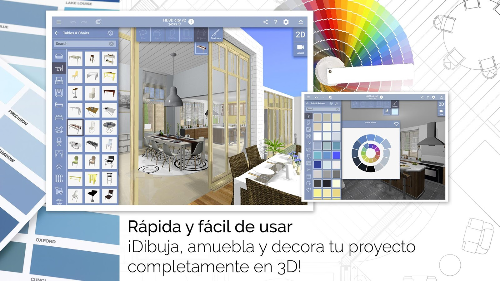 Home design 3d freemium aplicaciones de android en for Home disena y decora tu hogar