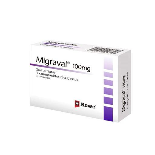 sumatriptan migraval 100mg 4comprimidos klinos