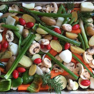 Simple Roasted Veggies & Harvest