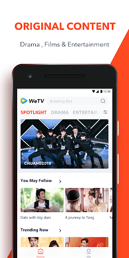 WeTV - Dramas, Films & More 1.7.8.5156 screenshots 1