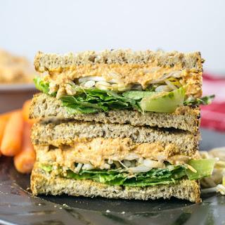 Vegan Pimento Cheese Spread Sandwiches Recipe