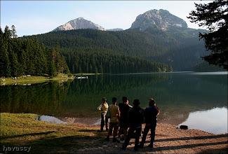Photo: Fekete-tó, háttérben a Durmitor részlete.