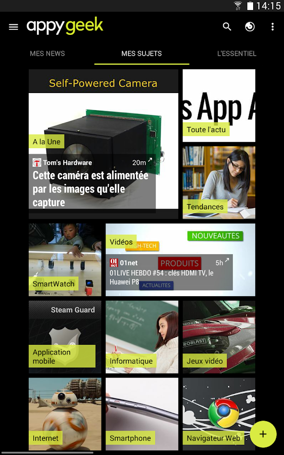 [APPLICATION ANDROID - APPYGEEK] L'application geek d'actualité indispensable [Gratuit][27/04/2015] JIVFyt1KAjgJTQcR_9OFzAFjAPAHI-ZrwbgzRE9pEX3SDPgT_hMpH-uO3YwOrh58Bg=h900