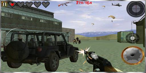 槍戰爭戰鬥3D:免費遊戲