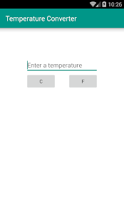 Temperature Converter- screenshot thumbnail