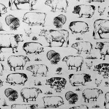 Photo: Edible Farm Animals Wallpaper @ Essex Street Market