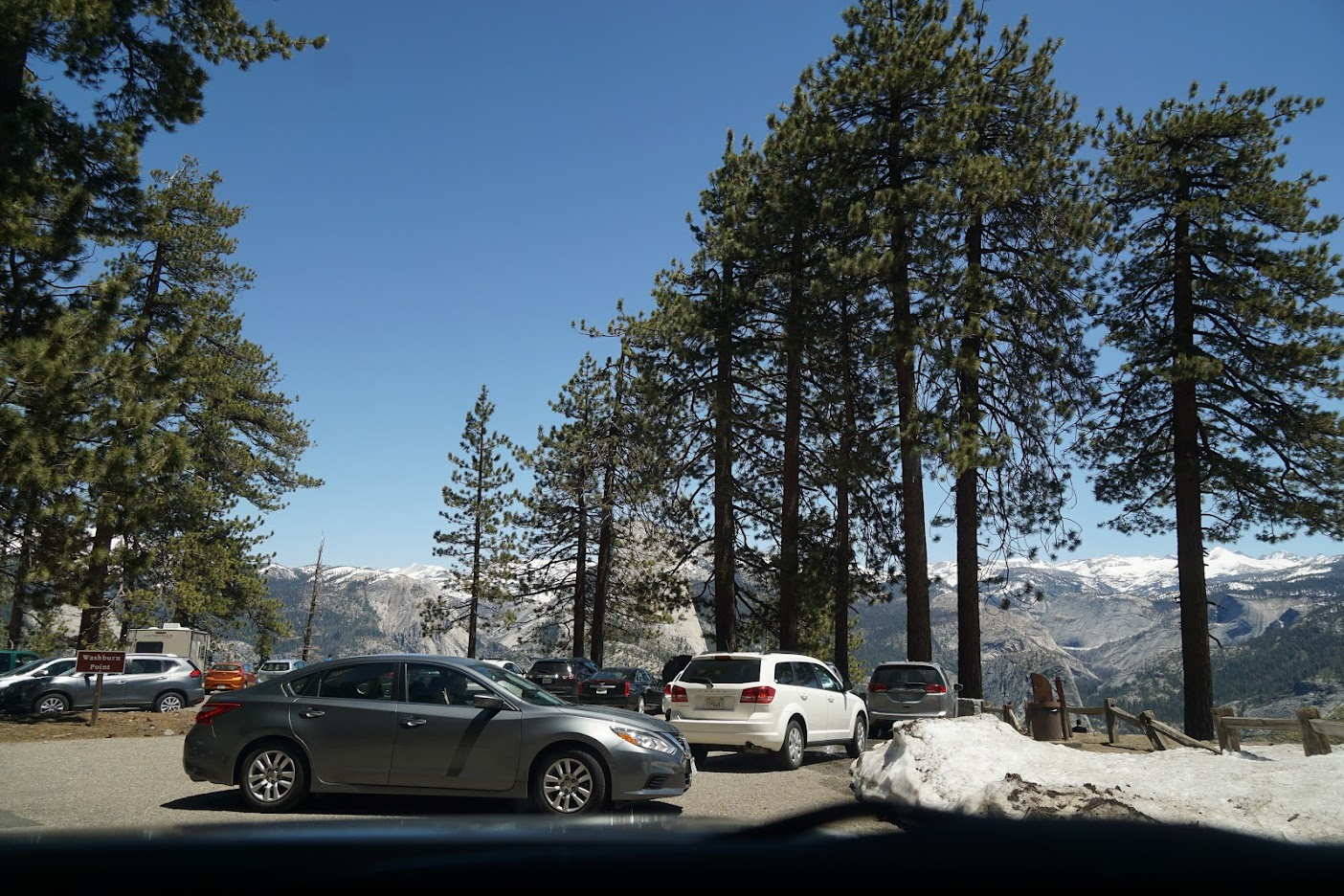 Yosemite National Park Parking