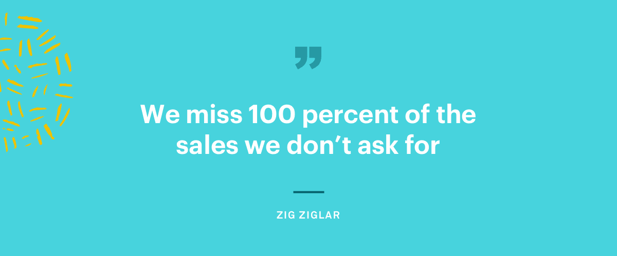 zig ziglar sales page quote
