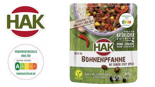 Bild für Cashback-Angebot: HAK Fertiggerichte Bohnenpfanne - Hak
