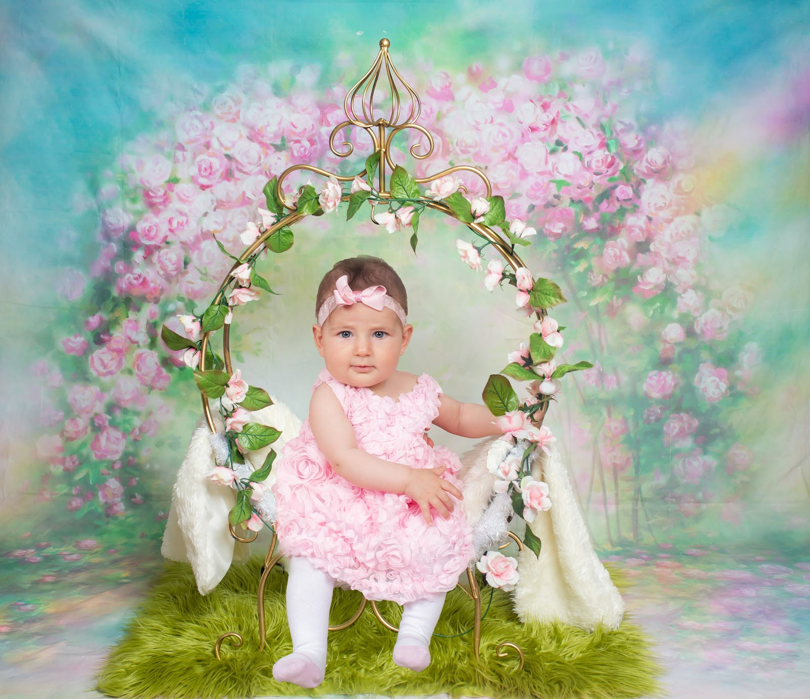 baby girl photography by hnmphotoz