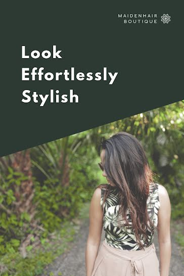 Effortlessly Stylish - Pinterest Pin Template