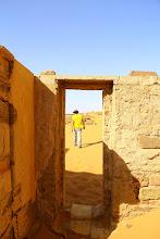 Photo: Meroë pyramids, Nubia desert