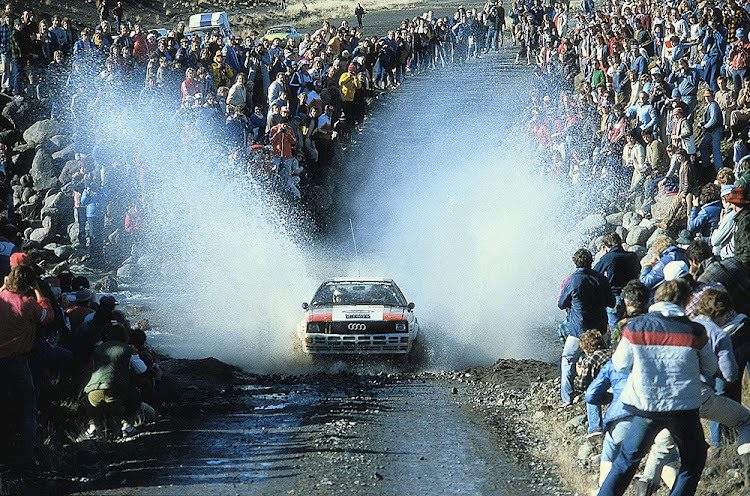 Audi clinches the 1982 Rally World Championship for Manufacturers.