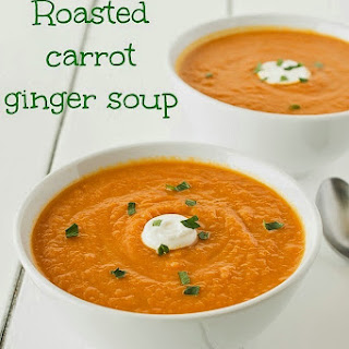 Roasted Carrot Ginger Soup