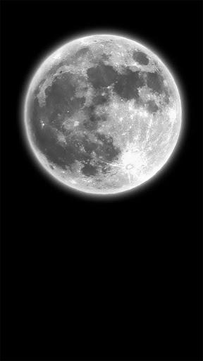 Dark Moonlight.Black wallpaper