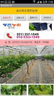 영진농원홈피 (송산포도) - náhled