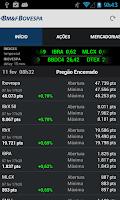 Screenshot of BMFBOVESPA