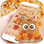 Thanksgiving Owl Theme Icon