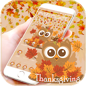 Thanksgiving Owl Theme