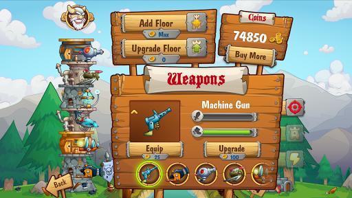 Code Triche Tower Crush - Gratuit de Stratégie APK Mod screenshots 1