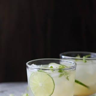 Key Lime Cooler Cocktails.