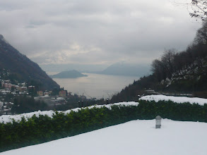 Photo: Argegno in the snow