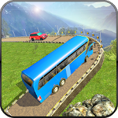 Uphill Offroad Bus Driving Simulator: Mountain Bus