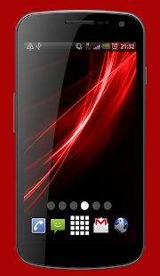 Neon Color Splash Live Wallpaper Theme - náhled