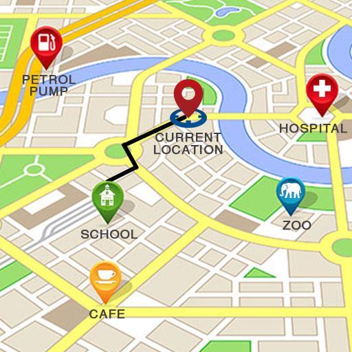 GPS Route Finder:Map Navigator