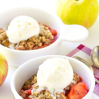 Red Hot Crock Pot Apple Crisp