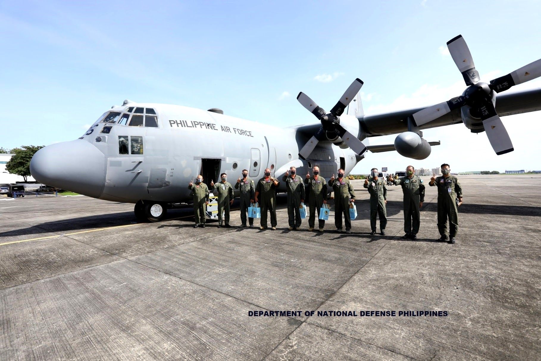 PHILIPPINES Air Force gets a lift with new ₱2.5 billion C-130H from US