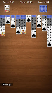 Game Spider Solitaire - Best Classic Card Games APK for Windows Phone