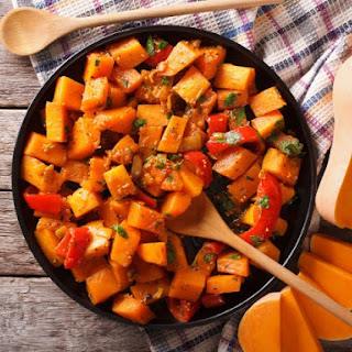 Roasted Red Curry Butternut Squash.