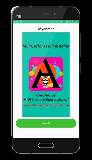 MIUI Custom Font Installer 1.2 screenshots 5