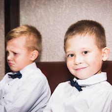 Wedding photographer Natalya Sharova (natasharova). Photo of 17.11.2017