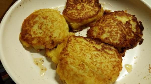 Corny Potato Fritters