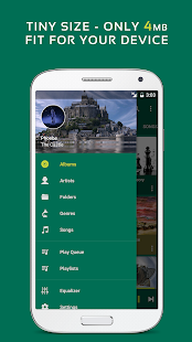 Pulsar Музыкальный плеер - Pulsar Music Player Screenshot