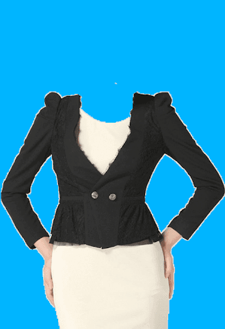 android Women Suit Photo Frames Screenshot 7