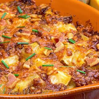 Bacon Cheese Potato Casserole.