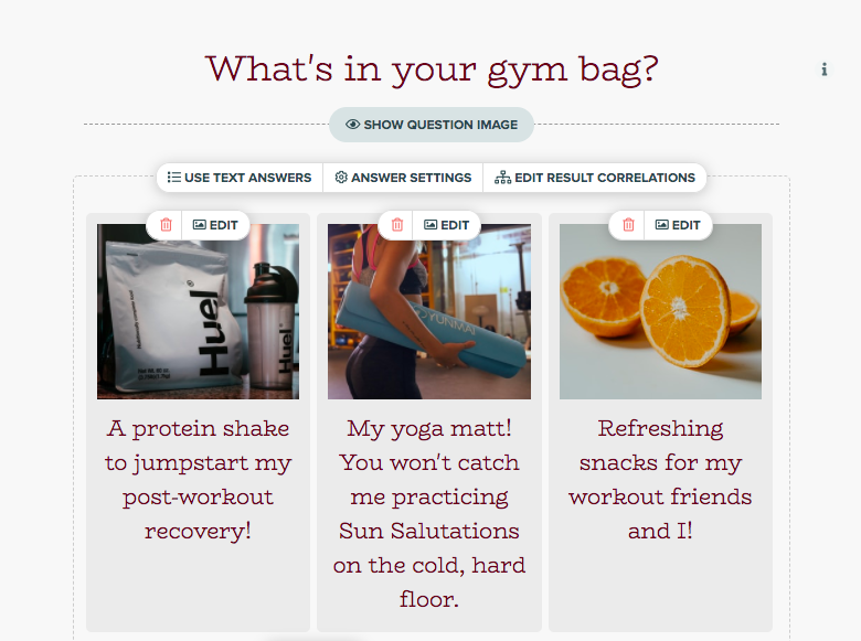 what's in your gym bag question with images