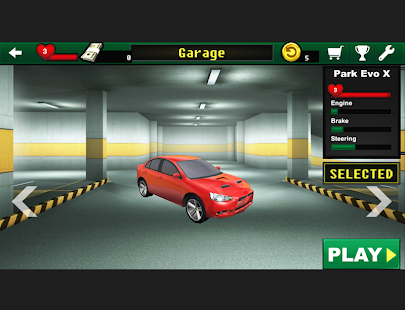 Garage Parking Car Parking 3d Android Apps On Google Play