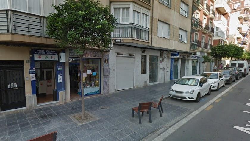 Despacho receptor de Pablo Iglesias donde se ha vendido el boleto premiado.