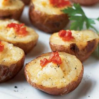 Smoked Salmon and Cheese Mini Twice-Baked Potatoes from Cooking Light.