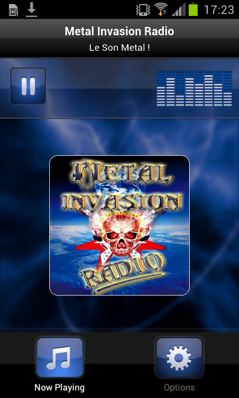 Metal Invasion Radio- screenshot