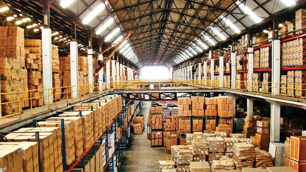Different types of warehousing
