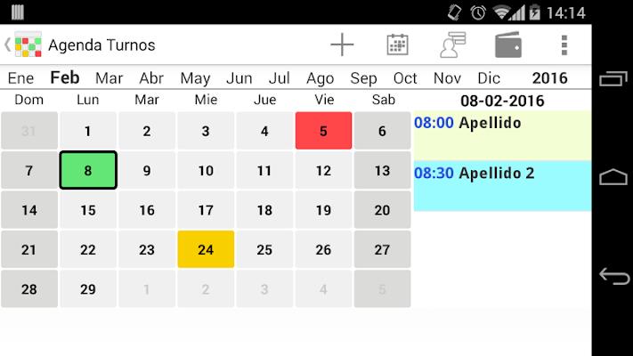 Agenda Turnos  Salud - screenshot